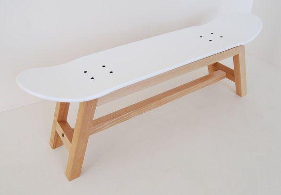 Skateboard stool Gift Ideas every Skateboarder, Nordic white
