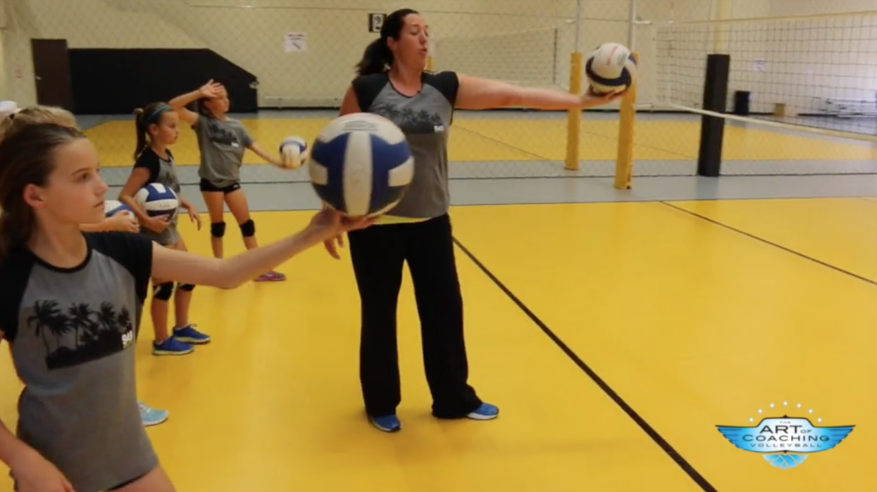 Float Serve Fundamentals With Cary Wendell Wallin The Art Of Coaching Volleyball Youth Volleyball Coaching Volleyball Volleyball Workouts