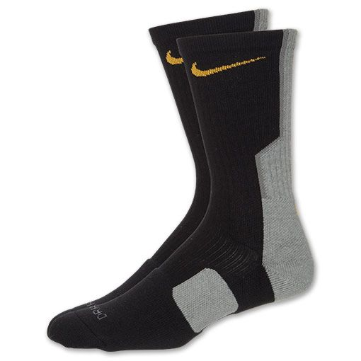 Nike Elite Men's Basketball Crew Socks(wrong size)