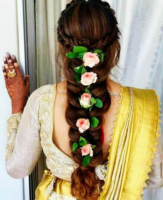 Hairstyle Images For Girls In 2020 Bridal Hair Inspiration New Bridal Hairstyle Floral Hair