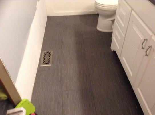 MSI Metro Gris 12 In X 24 In Glazed Porcelain Floor And