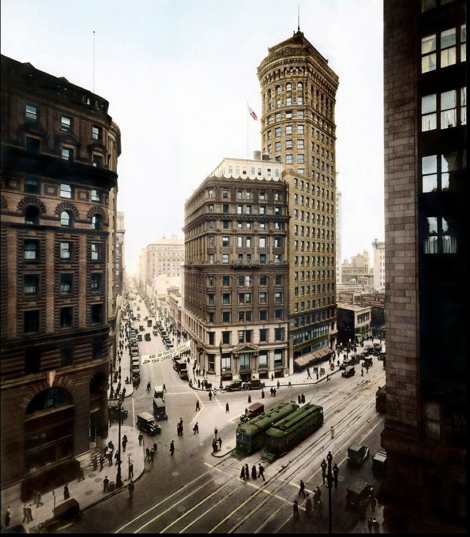 Hobart Building, Montgomery And Market Street, San
