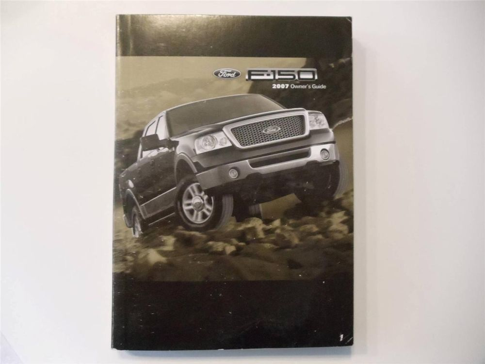 2007 ford f 150 owners manual book owners manuals pinterest ford rh pinterest com ford f150 2010 owners manual 2007 ford f150 4x4 owners manual