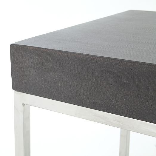 Ashton Side Table Steel - Ashton coffee table