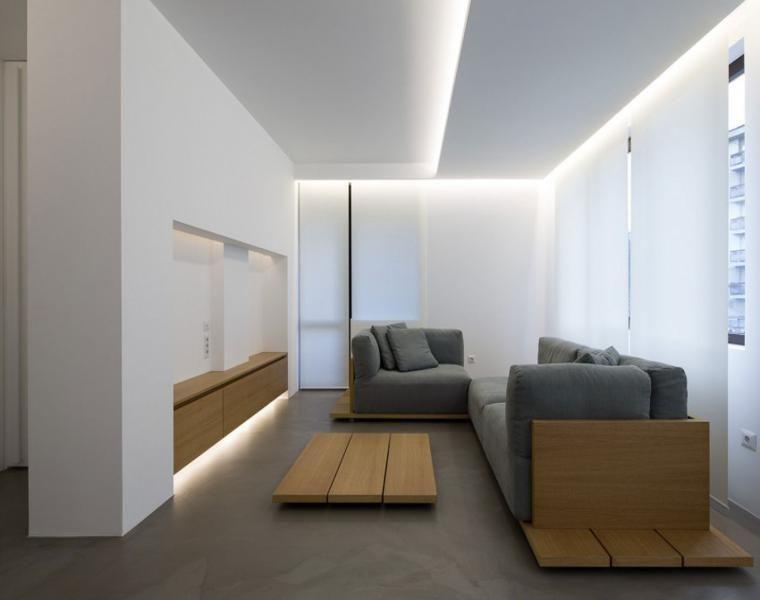 Minimalistische innenräume u2013 genießen sie einen klaren raum