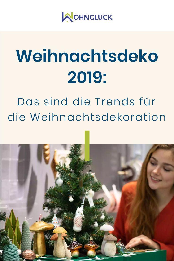 Weihnachtsdeko 2019: Das sind die Trends für die Weihnachtsdekoration