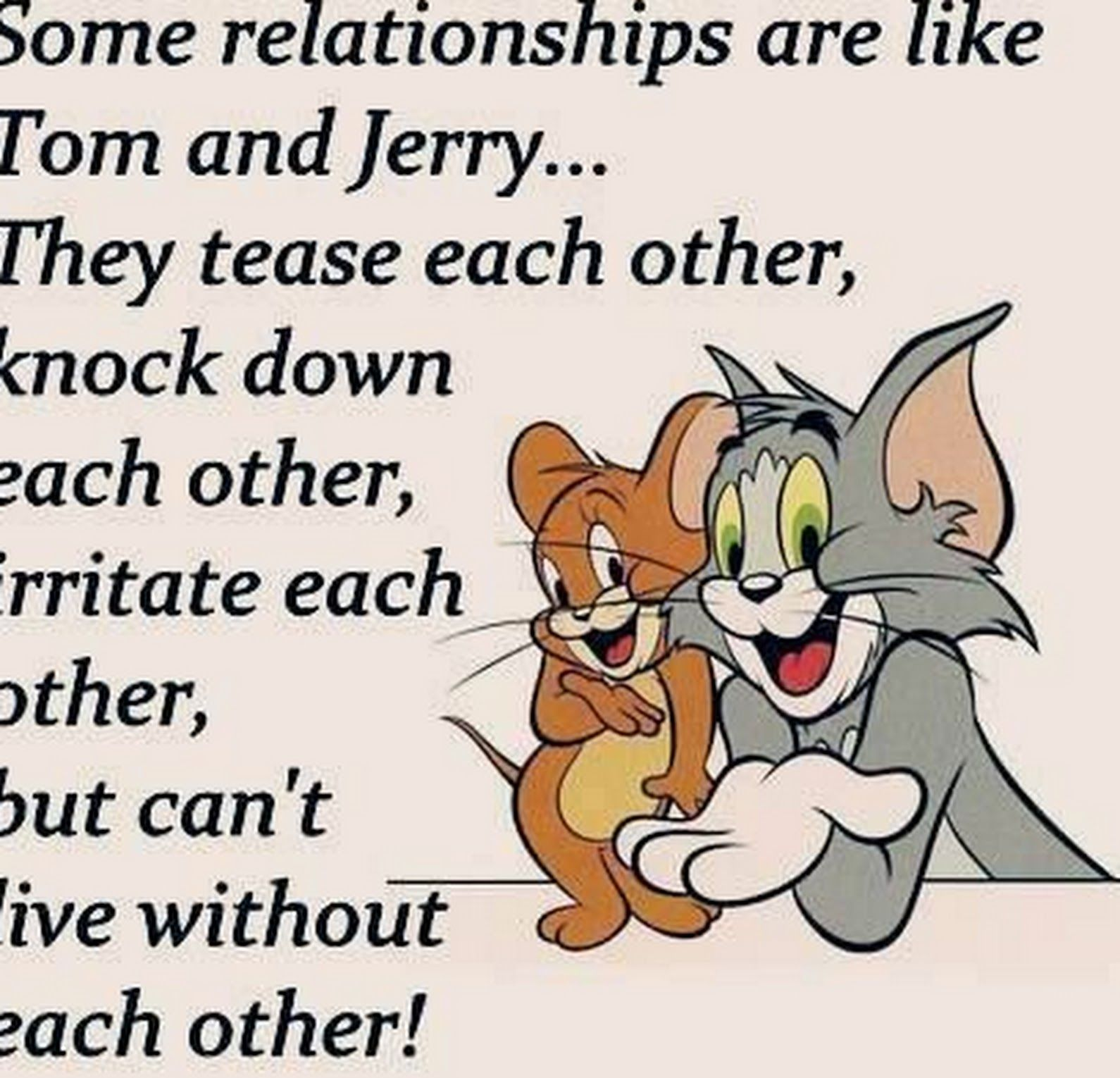 Sign In Tom And Jerry Quotes Friends Quotes Friends Forever Quotes