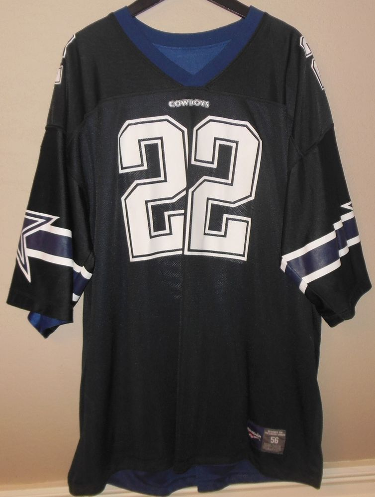 size 40 ee9af 0bf55 DALLAS COWBOYS Reebok NFL Jersey EMMITT SMITH Size 56 ...