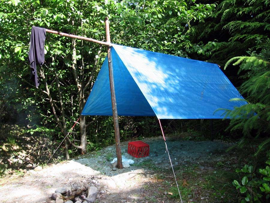 Quick Camping Tip: Take a Tarp… or Two -By CTD Suzanne published on May 1, 2014