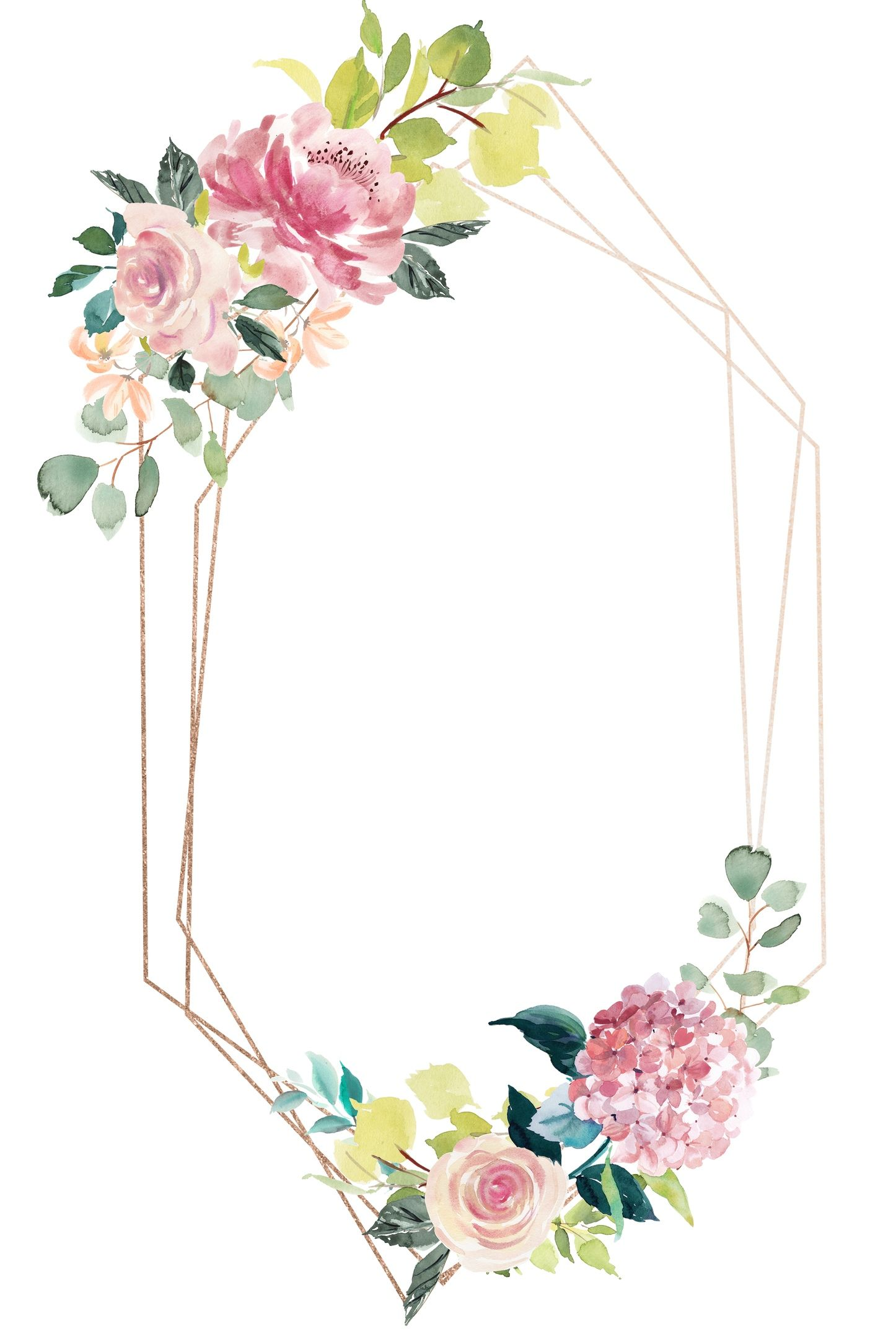 Skrapbuking Vk Floral Border Design Flower Frame Floral Background
