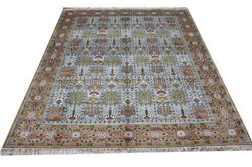 8'x 10' Hand Knotted Silk Rug Large Area Rugs Tribal Rugs Karastan Oriental Rugs(174c-8x10) tibet-tibet rugs http://www.amazon.com/dp/B00CI4Y8R2/ref=cm_sw_r_pi_dp_loGbub0EPRDX5