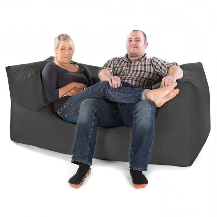 Two Seater Bean Bag Sofa