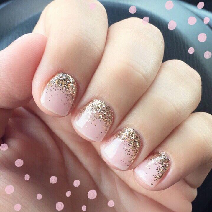 Wedding nails gel manicure nail art | Nails | Pinterest | Gel ...