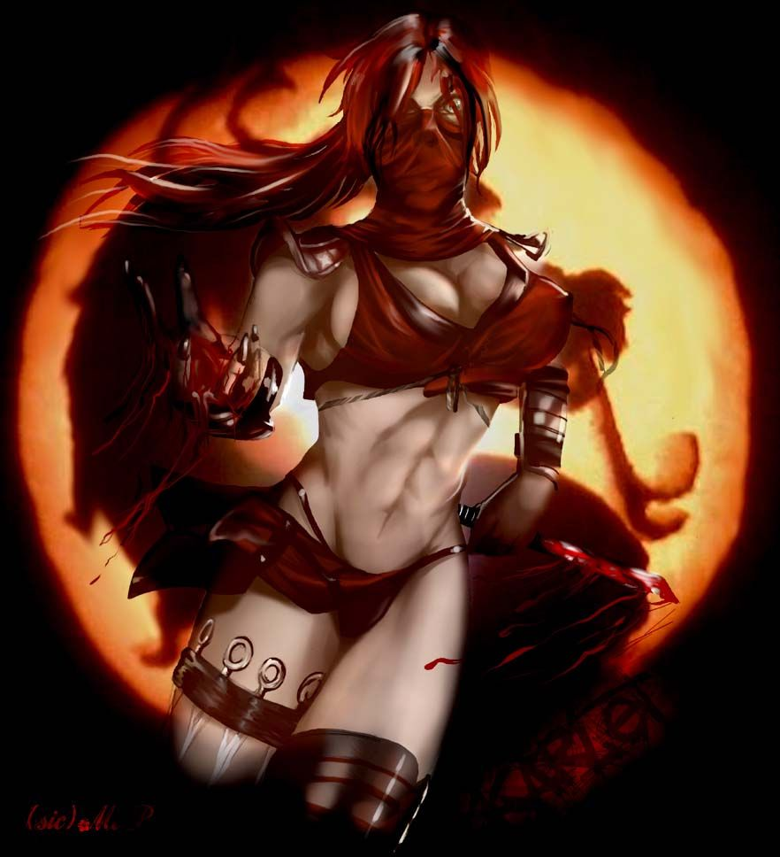 Skarlet From Mortal Kombat  Mortal Kombat, Fantasy Female -1222