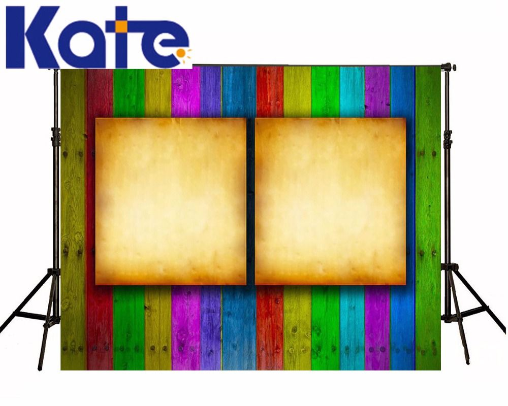 Photography Backdrops Background Color Display Board Wood Brick Wall ...
