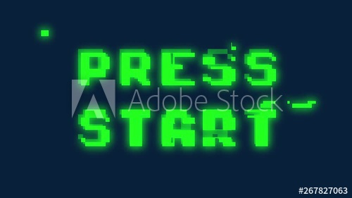 Stock Footage of A text message screen: Press Start  Digital