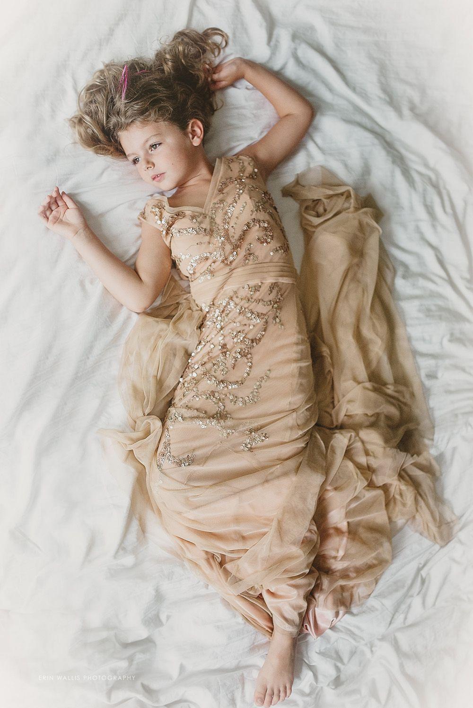 little girl in moms wedding dress, inspired, 5 year old in wedding ...