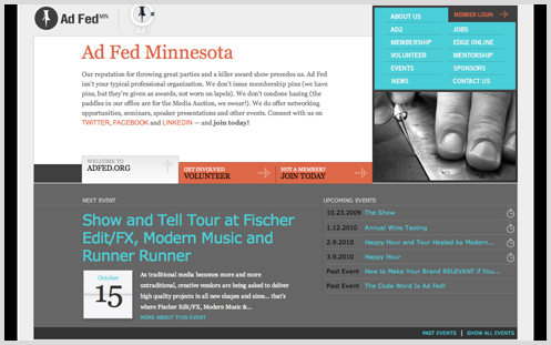 Ad Fed Mn News Website Design Blog Ads Event Marketing