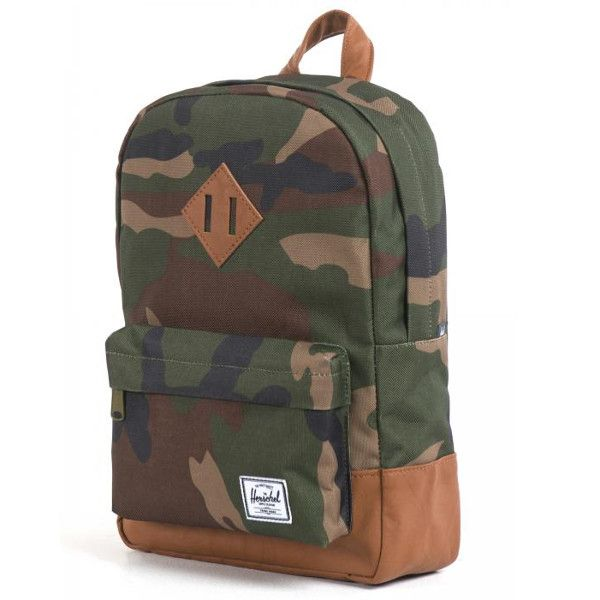 My Sweet Muffin - Herschel Heritage Kids Backpack Woodland Camo ... 7e5dc55a87045