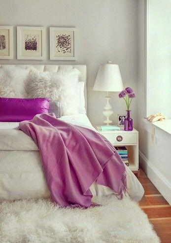 Fushia /Martine Haddouche/ Bedroom  Bedroom Pinterest