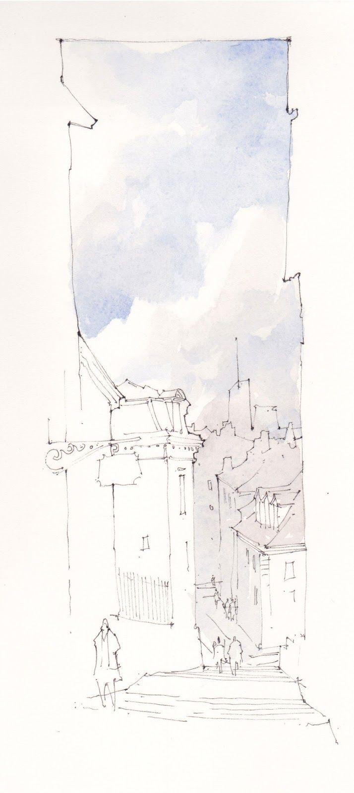 Pin On Urban Sketches