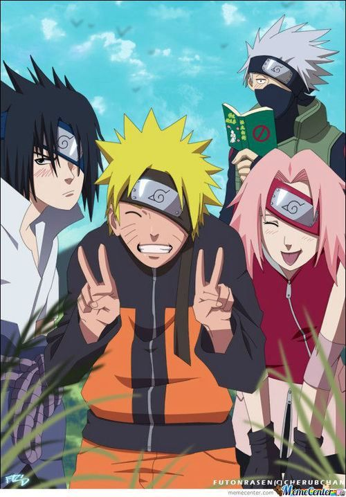 Team 7 Look Like Teacher With Images Anime Naruto Shippuden