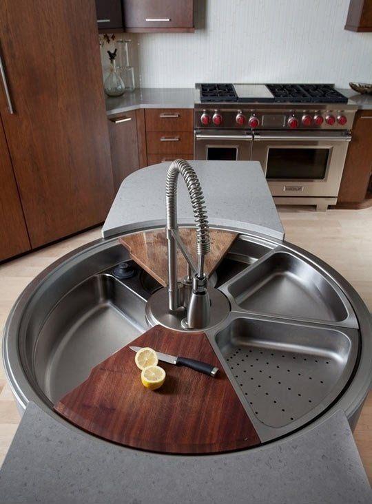Awesome rotating sink… legit.