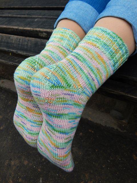 Носки от мыска с Хорошей.Громкой. пяткой | Вязание | Socks ...