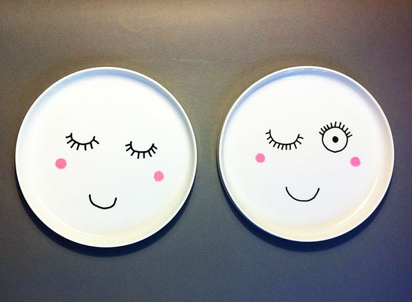 Easy peasy porcelain painting by A whole Lotte love