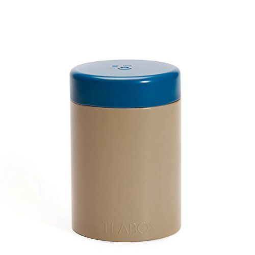 Teabox Round Tea Tin Brown Holds 100g Of Tea Twist Lock Top Tea Containerstorage Want To Know More Click On The Image It Is Amazon Tea Tins Tea Container