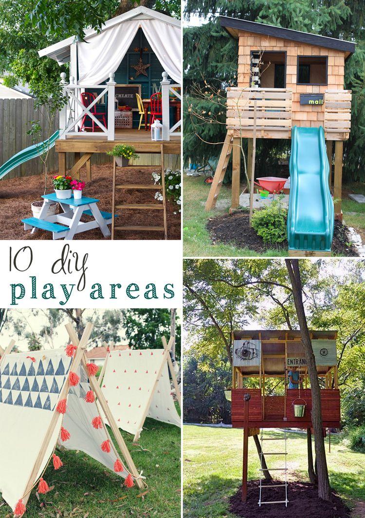 10 Diy Outdoor Playsets
