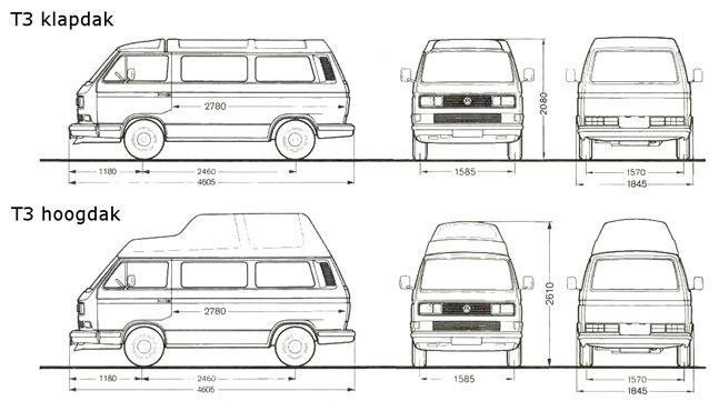 Pin op Volkswagen T3/T25