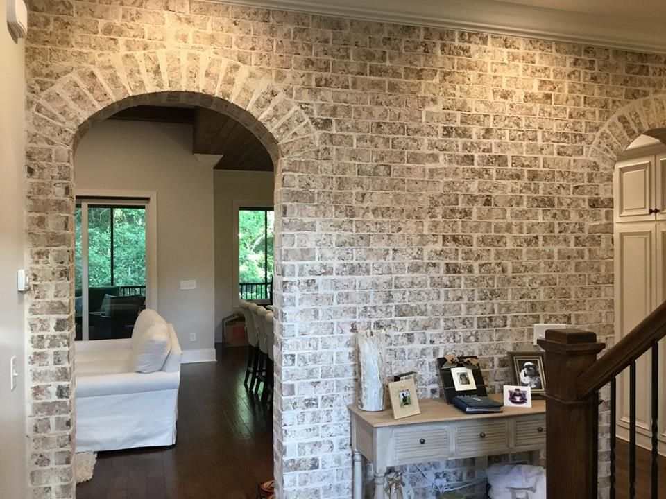 Thin brick is in and it has become a STAPLE for new homes ...