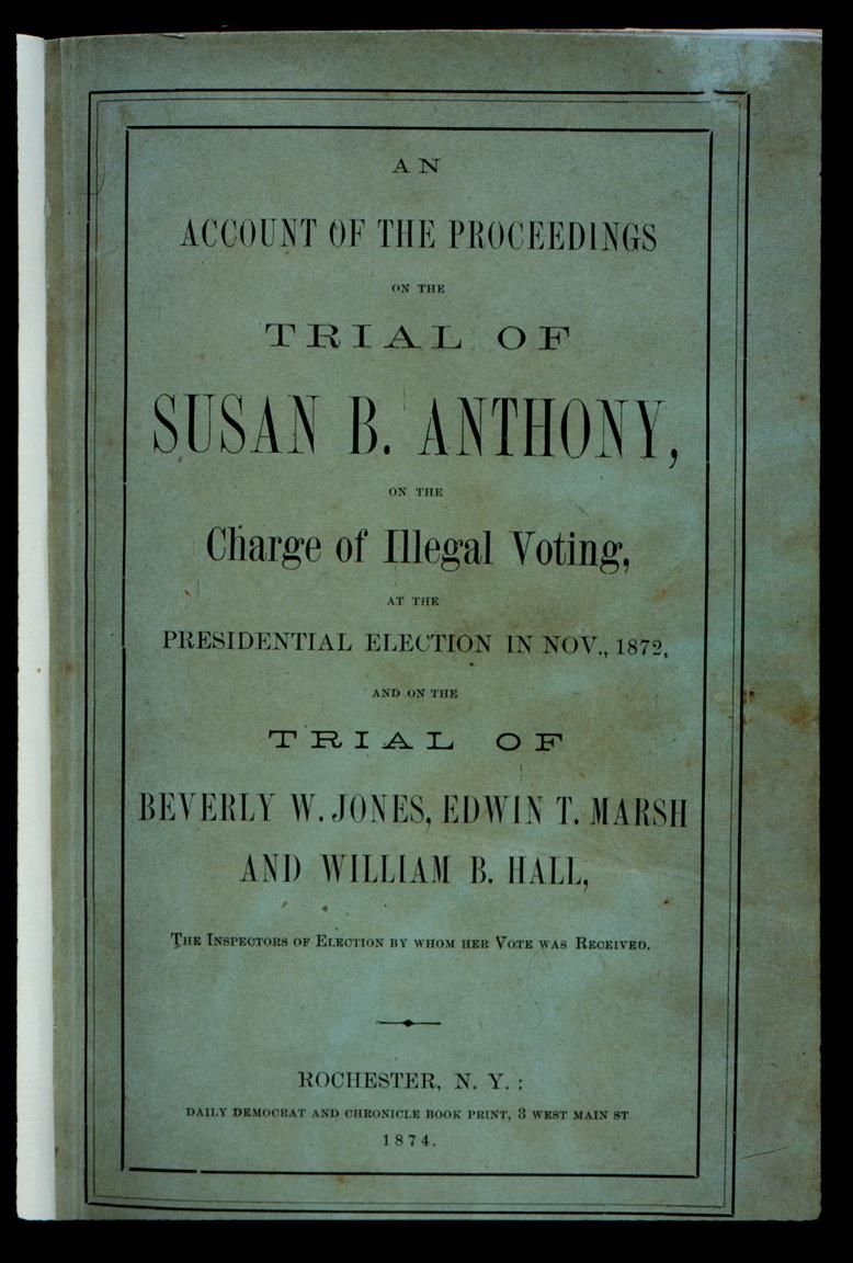 Workbooks susan b anthony worksheets : old book about susan b anthony - Google Search | Girl Power ...