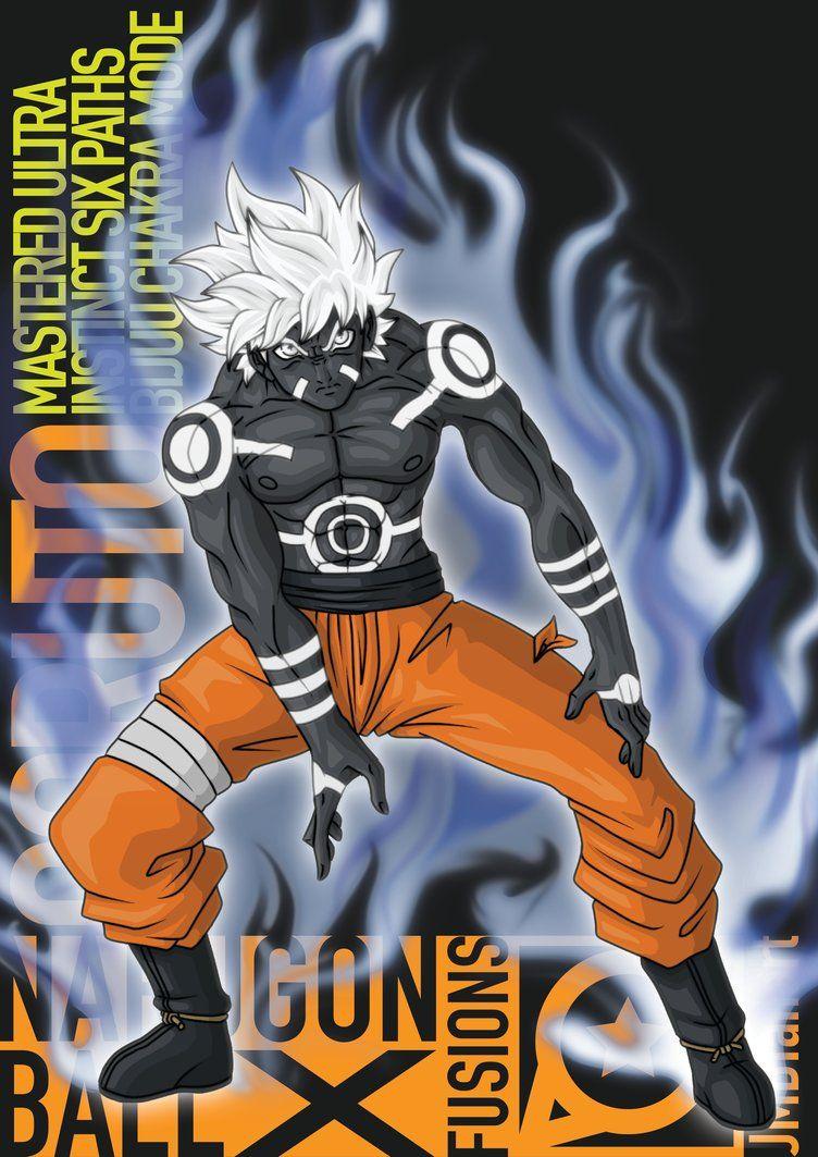Goruto Mastered Ultra Instinct Six Paths Bijuu Chakra Mode The final
