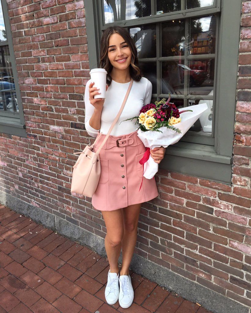Pinterest Arudnicki Style Olivia Culpo Pinterest Suede Skirt Ps And Skirts