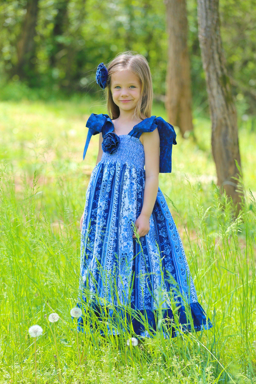 Girls maxi dresses baby and toddler long summer dress