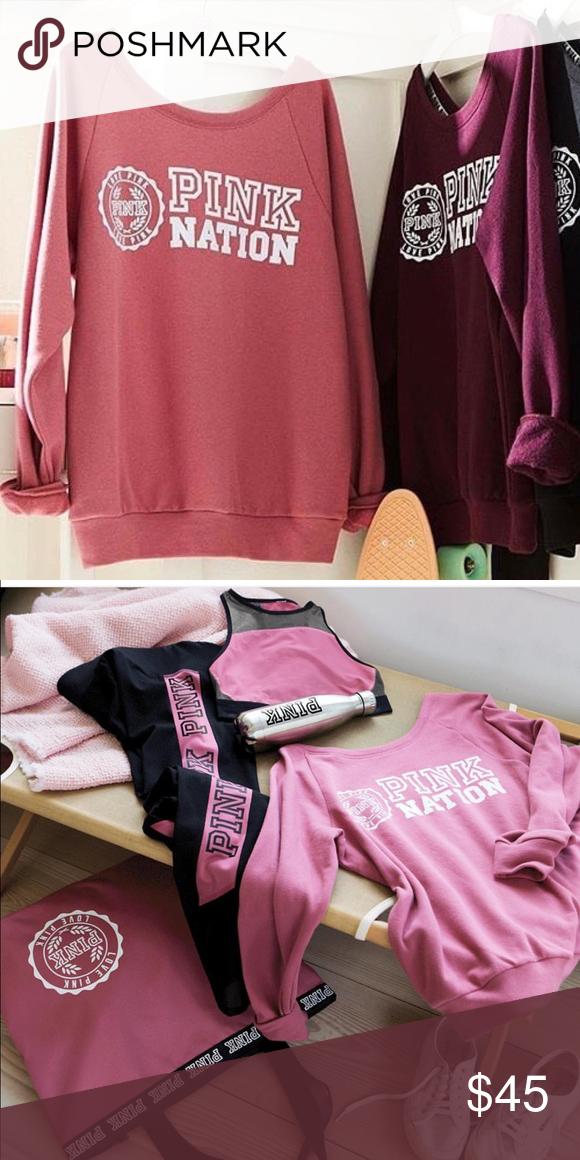 Vs Pink Begonia Crew Brand new Vs Pink Crew. Price is firm. Cheaper on Ⓜ️ercari. PINK Victoria's Secret Sweaters Crew & Scoop Necks