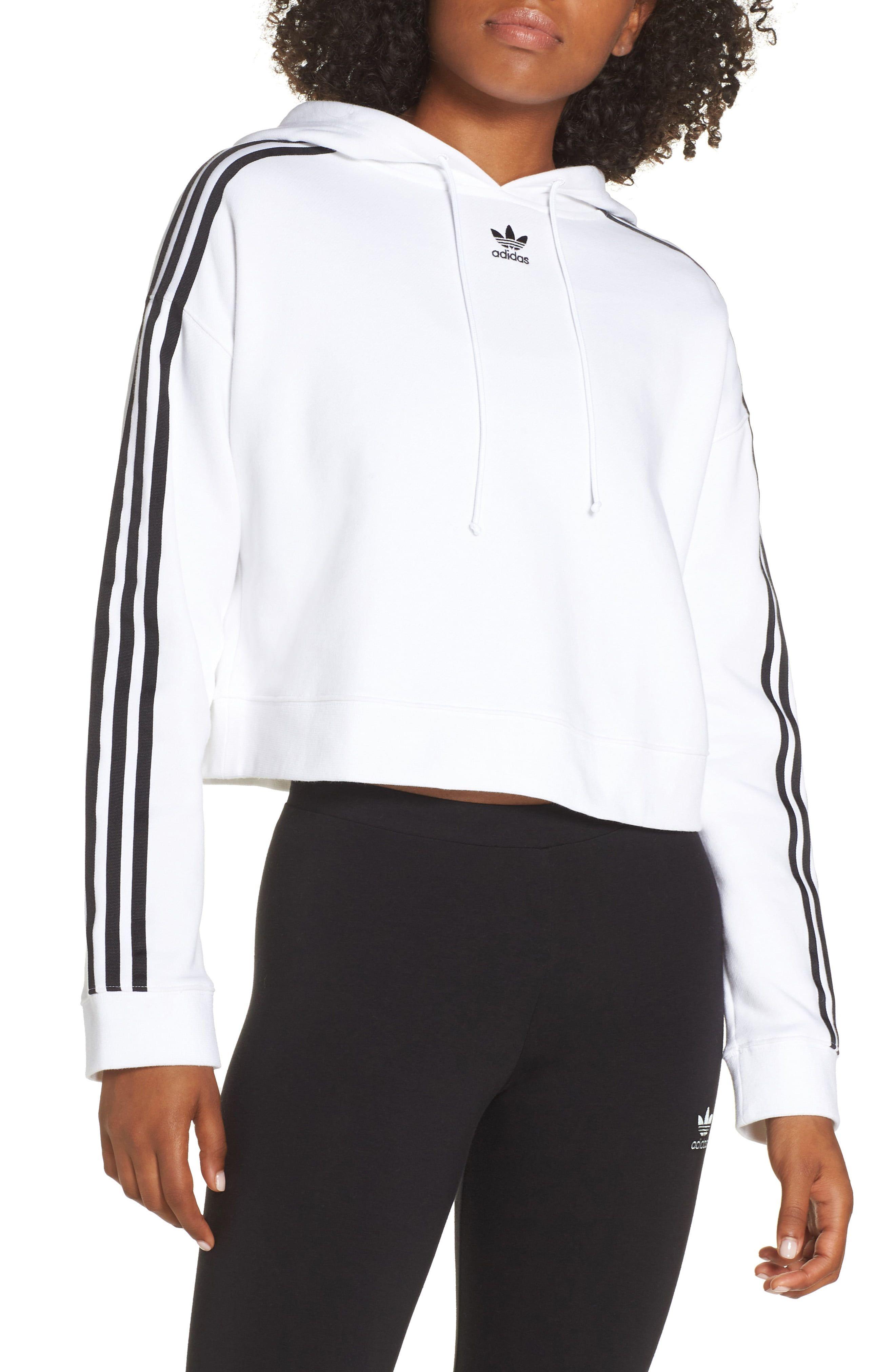 adidas Originals Crop Hoodie | Cropped hoodie, Adidas