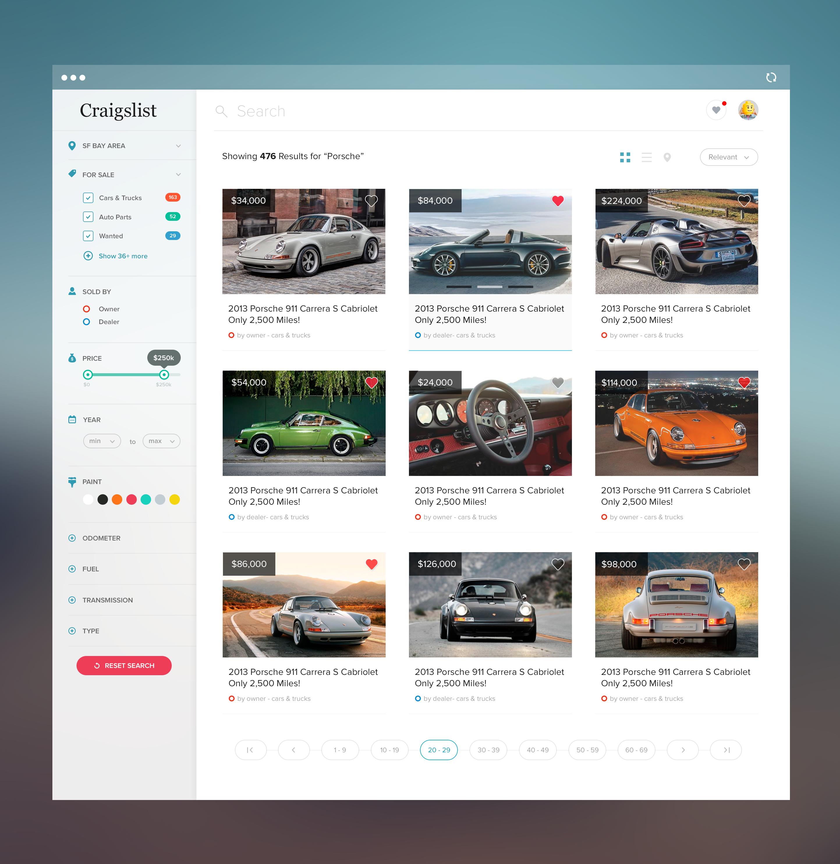 Craigslist Redesign by Tanveer Junayed  | web app entrainement ...