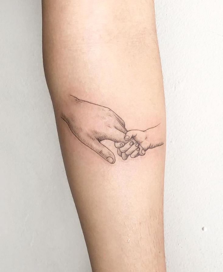 Photo of Cute Little Hands Tattoo – InkStyleMag