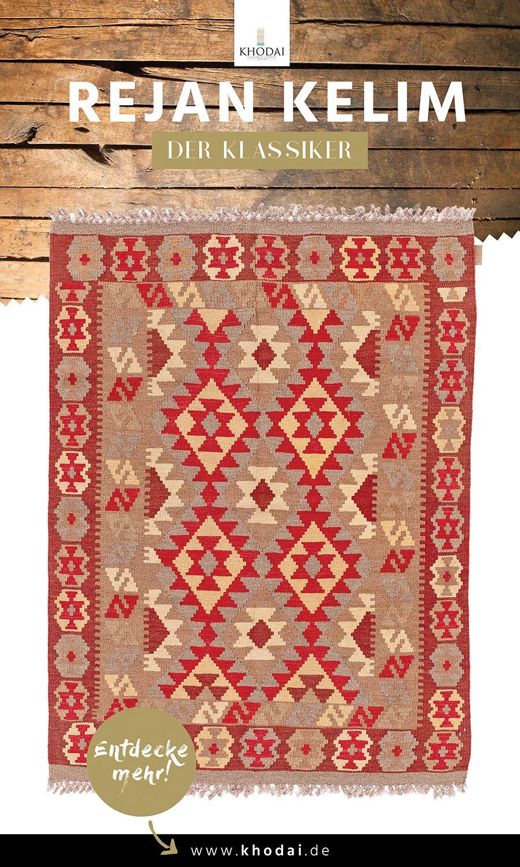 Rejan Kelim Teppich Rot Khodai Handmade Carpets Kelim Teppich Teppich Dekoration