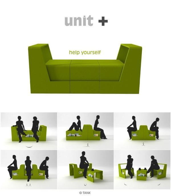 unit+ by Fatih Can Sarıöz, via Behance