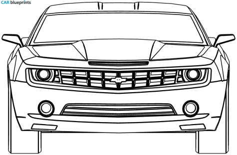 Chevy Symbol Coloring Pages In 2020 Chevrolet Chevrolet Camaro Camaro