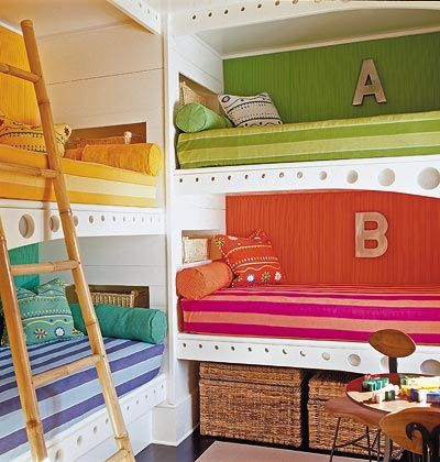 awesomest bunkbed idea!
