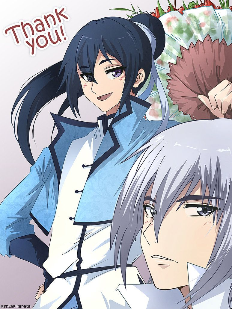 Spiritpact Fanart By Kenzakikanata Kawaii Anime Fan Art Anime