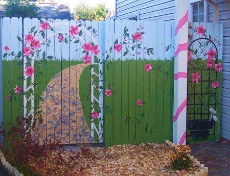 Secret Path on Fence Gardening Pinterest Paths, Garden deco
