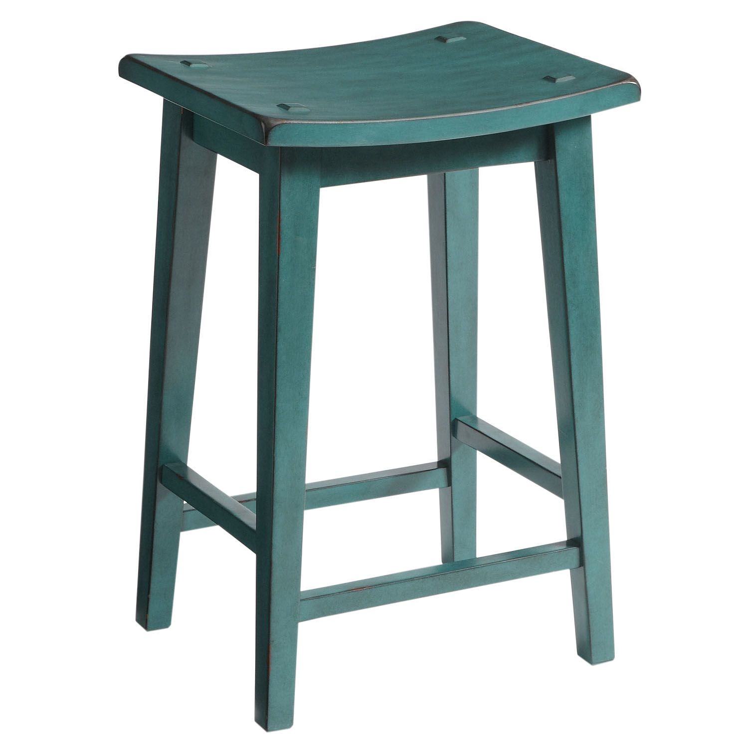Lawson Backless Bar & Counter Stools Teal