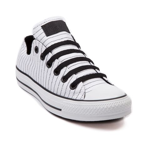 e37cef113d0d59 Shop for Converse All Star Lo Pinstripe Sneaker in White Black at Shi by  Journeys. Shop today for the hottest brands in womens shoes at Journeys.com.