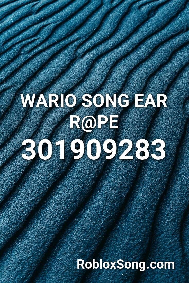 Do The Wario Roblox Id